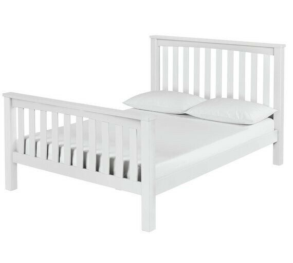 Bed Frames & Divan Bases Maximus Kingsize Bed Frame White