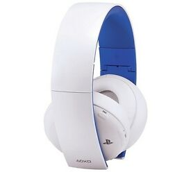 Sony Ps4 headset White