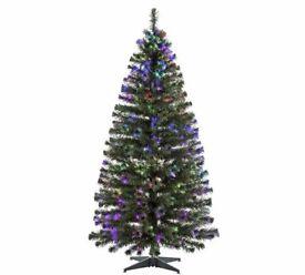 6ft Fibre Optic Christmas Tree - Green