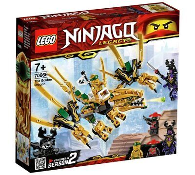 LEGO Ninjago The Golden Dragon - 70666 Best Game To Play With