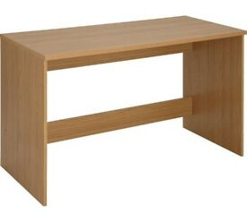 Argos Home Walton Office Desk - Oak Effect