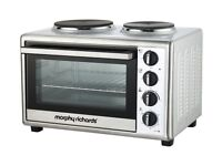 Morphy Richards Electric Silver Mini Oven Cooker - ONLY £50
