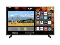 "Bush smart TV 42"" + TV box + small table"