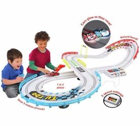 Night Challenge Raceway Light up Cars