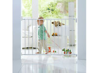 Lindam Wall Fix Push to Shut Extending Metal Baby / Toddler Safety Gate - New in Box*