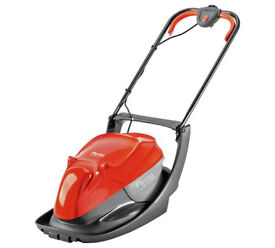 Flymo Hover Lawnmower With Grass Box AS NEW