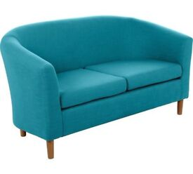 Blue Sofa 2 seats