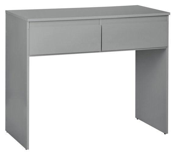 Hygena Larvik Dressing Table - Grey Gloss