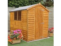 Garden Shed, never used, 8ft X 6ft, Southeast London, Camberwell.