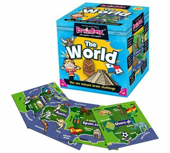BrainBox The World geography game