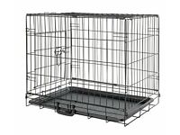 Small Dog/Puppy Crate with cushion for Sale