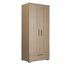 Brand new oak effect wardrobe