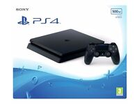 Brand new sealed - Playstation 4 Slim 500Gb Black Console with receipt