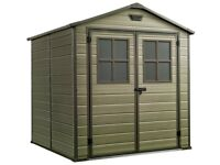 Keter Scala Plastic Garden Shed - 6 x 8ft