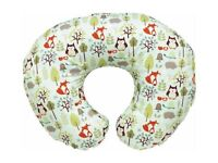 Chicco Boppy Cotton Feeding Pillow - Woodsie (Nursing Support Pillow)