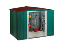 brand new metal garden shed 8ft x 6ft