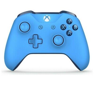 Official Xbox One Wireless Controller 3.5mm - Blue - USED