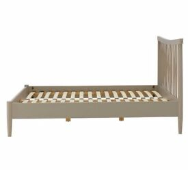 Heart of House Dorset Double Spindle Bed Frame - Putty