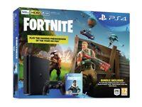 Brand New Sealed PS4 Slim 500GB + Fortnite Battle Royal Bundle