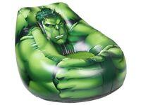 Marvel Avengers Hulk Flocked Chill Chair