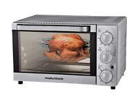 brand new morphy richards mini rottiserie oven