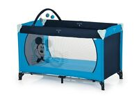 Disney Baby Mickey Mouse Dream and Play Travel Cot