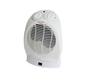 Challenge 2.4kW Upright Oscillating Fan and Heater