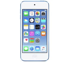 Blue iPod Touch 6th Generation 16GB