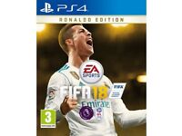 Fifa 18 (Sealed for Ps4)