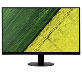 27-Inch Acer SA270 IPS LED Monitor - Full HD - HDMI- Black