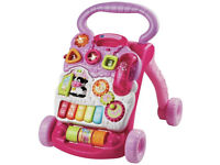 VTech First Steps Baby Walker - Pink - Excellent condition