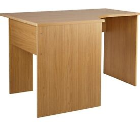HOME Walton Corner Office Desk - Oak Effect