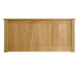 Grafton Kingsize Headboard - Oak Stain
