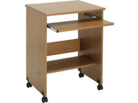 Brand new, not yet unpacked transportable Argos computer desk for sale