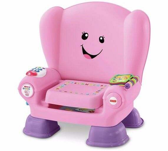 fisher price chatter chair.