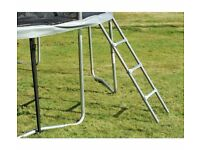Sportspower 14ft Folding Trampoline, easy store safety enclosure. padded frame and poles