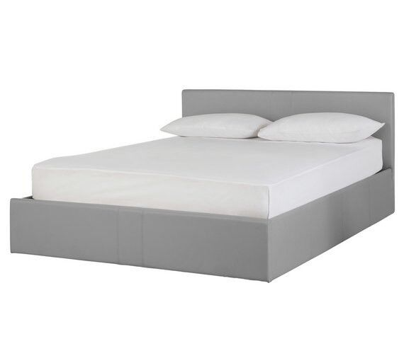 Double ottoman bed frame