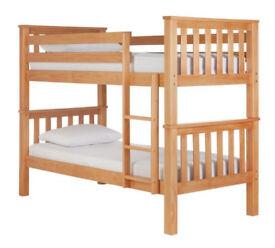 Heavy Duty Bunk Bed - Pine