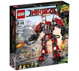 BRAND NEW LEGO NINJAGO FIRE MECH 70615