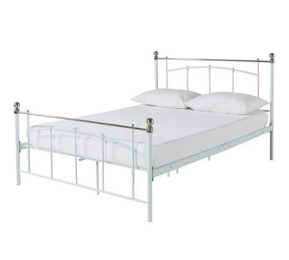 Argos Home Yani Double Bed Frame - White | in Leicester ...