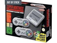 Nintendo SNES mini - brand new