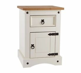Puerto Rico Bedside Chest - Two Tone Finish