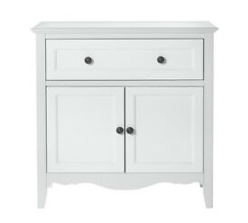 Collection Romantic 2 Door 1 Drawer Sideboard - White