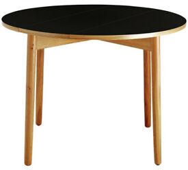 Habitat Suki Folding Oak Table - Black