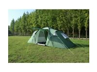 Band New Trespass 6 Person 2 room Tent