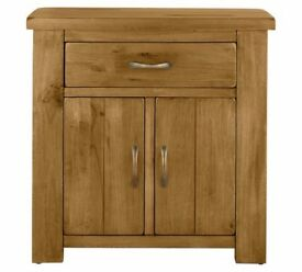 Ex-display Arizona 2 Door 1 Drawer Solid Pine Sideboard