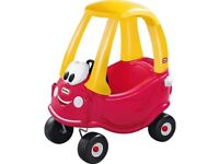 Crazy coupe car in red good cond