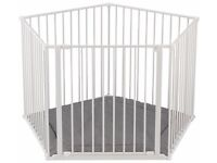 BabyDan Babyden Playpen - White. Immaculate condition, never used