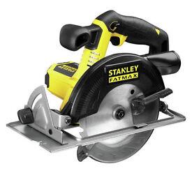 Stanley Fatmax Circular Saw - 18v battery powered - £50