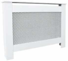 HOME Odell Small Radiator Cover - White
